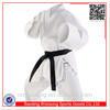Martial art white heavy weight karate uniforms
