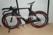 china super light 700c carbon tt frame set for time trial bike ,carbon frame time trial