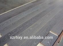 Monocoat grey oil oak engineered wood flooring
