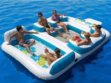 Family Paddling Pool/ Awesome Inflatable Floating Island/Inflatable pool