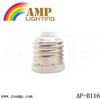 Zhongshan outlets E26 to e12 lamp socket ,lighting accessory