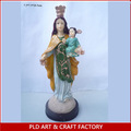 Resina estatuilla religiosa / resina Mary estatuilla / Mary decoración