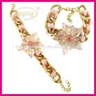 New products lucky charm bead bracelets,fake gold bracelets wholesale