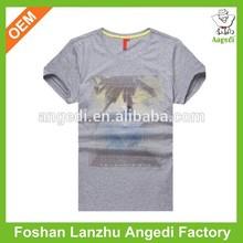2014 scoop neck dog plain t-shirts