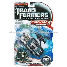 Hot sale Deluxe Action Figure Lunarfire Autobot Armor Topspin/ Autobot Armor Topspin Prime robot model Action Figure