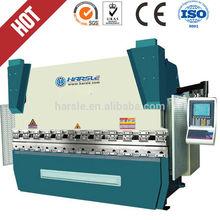 hydraulic press brake price, 100T*2500mm CNC hydraulic bending machine with MD11-1