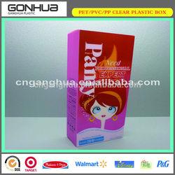 2014 Popular Top Gear China Eco-friendly Good Plastic 120ml Gentle Aloe Moisturizing Facial Cleanser PET Packaging box