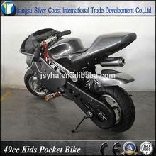 Popular 2 Stroke Mini Racing 49cc Kids Pocket Bike with CE certificate