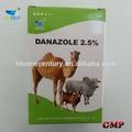 Medicina veterinaria 2,5% 10% albendazolo sospensione per il bestiame, cavallo