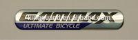 zinc alloy metal letters logo badge for garments and handbags