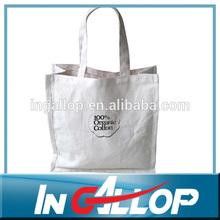 promotional custom tote cotton muslin bag