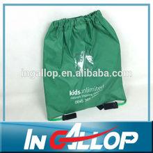 wholesale foldable nylon polyester drawstring bag