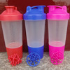 500ML BPA Free Plastic Personalized Protein Shaker Bottle Wholesale
