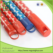 Chinese home & garden pvc coated wooden broom handle, pvc stick