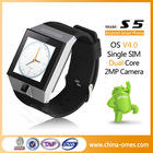 S5 Dual Core Touch Screen Bluetooth GSM GPS Android Smart Watch