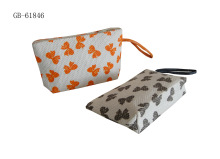 New Design Paper Straw Cosmetic Bag Butterfly Design