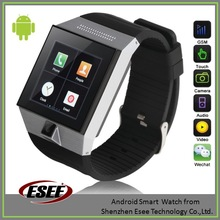 2014 bluetooth 4.0 android smart watch phone with HD camera