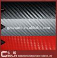 Auto- adhesivo de pvc 60x100' de vinilo fibra de carbono de papel de fibra de carbono de la producción