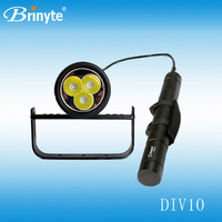 Most Powerful Magnetic Scuba Underwater Canister LED Diving Torch Flashlight