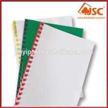 Low price High quality A4 L shape folder plastic file folder