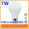 New 7W led bulb light with CE certification