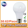 New Cheap 7w led bulb e27 warm white