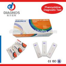 Best-quality urine drug testing equipment(urine/saliva)(PCP)(strip/cassette)