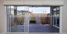 Aluminium Stacking Sliding Glass Doors