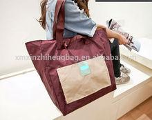 New design polyester folding luggage duffle bag travel bag