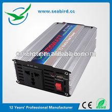 SEABIRD 12/24VDC power solar inverter 1000W frequency inverter/converter