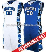 custom camouflage basketball jersey set