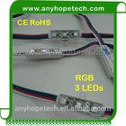 0.72W/PC 12V Waterproof SMD5050 injection high power led module street light