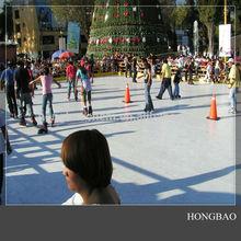 plastic skate china supplier/Hot Ice board/garden skating rink