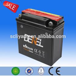 12v motorcycle battery China supplier 12 v 5ah mf storage motocycle battery