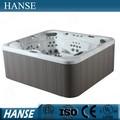 Hs-sp590 acessível hot tubs/macio banheira spa/jato de água de banho spa