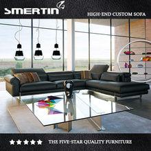 Black sitting room corner sofa sofa fashion F113