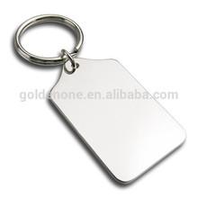Promotion Cheap Blank Zinc Alloy Metal Keychain