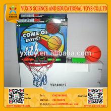 Hot sell kids sport adjustable basketball set