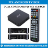 Factory Price!!! MX Dual Core android tv box with XBMC Pre-installed 1080p 3D WiFI Miracast