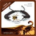 nova insetos real pulseira moda