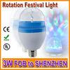 3W RGB DJ Stage Lighting Bulb Disco Crystal Ball Lights christmas items wholesale