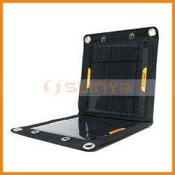 6W Solar Power Pack Waterproof Outdoor Solar Panel Bag