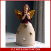 2014 Hot Sale Ceramic Religion Angel Candle Holders Wholesales