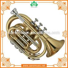 TR104 Professional Brass Pocket Trumpet for sale