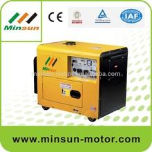 Small Portable electrical diesel generator 5.5KW SY5000DE(ATS)