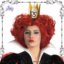 Alice in wonderland Red Heart Queen cosplay wigs