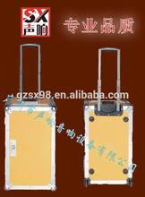 hard plywood pro flight case speaker cable case