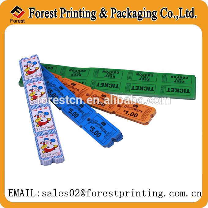 Ticket Design New Design Arcade Ticket