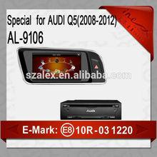car dvd radio gps navigation for audi a6 car dvd player for audi car multimedia for Audi Q5 2008-2012 AL-9106