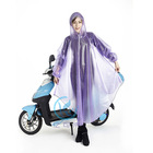 Wave point printing women rain poncho for motorcycle